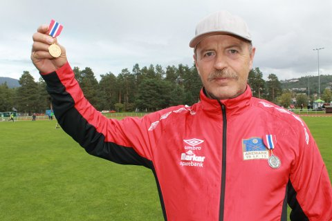Bjørn-Arild Sande forsynte seg grovt av medaljene i NM.
