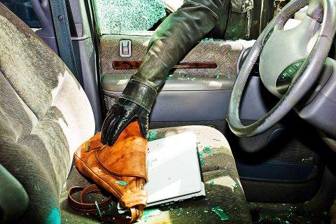TYVER PÅ FERDE: – Prøv å gjøre bilen din mindre attraktiv for innbrudd enn de andre bilene på parkeingsplassen, råder Tryg Forsikring.