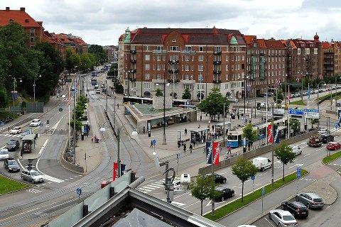 VERSTING: Göteborg er blant byene i Skandinavia hvor turister opplever flest bilinnbrudd. Det hjelper ikke å parkere i p-hus med kameraovervåkning.