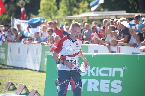 Olav Lundanes stiller til start på lørdagens langdistanse.