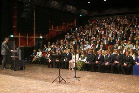 LEIER: Også neste år leies Brygga kultursal når minst 75 haldensere konfirmerer seg borgerlig. Arkiv.