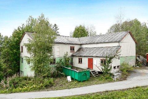 KAN BLI DITT: Et gammelt minkmatfryseri i Aremark er til salgs. Megler er advokat Erik Parmer, og eier var tidligere landhandler på Strømsfoss, Arne Holth.