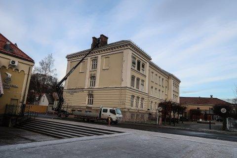 RÅDMANNEN VIL SELGE: Rådmannen ønsker å selge Halden bibliotek på det åpne markedet til høystbydende.