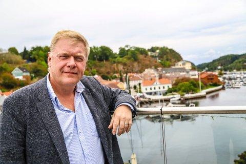 MÅ BETALE: Pål Mikkelsen, direktør for Norsk nukleær dekommisjonering, mener det er en selvfølge at det norske samfunnet skal betale det det vil koste å ta denne opprydningen av atomavfall.