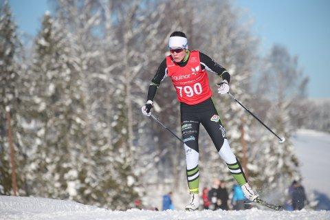 STERK: Martine Eldre Svendsby var noe syk innen den første norgescuprunden. I tiden fra den første til den andre gikk alt som det skulle, og resultatene ble bedre.