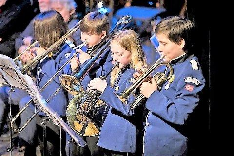 De yngste i Halden skolemusikkorps, Brygga mars 2018