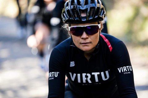COMEBACK: Emilie Moberg gjorde en god etappe i Spania torsdag. I det som var hennes første ritt på et halvt år.