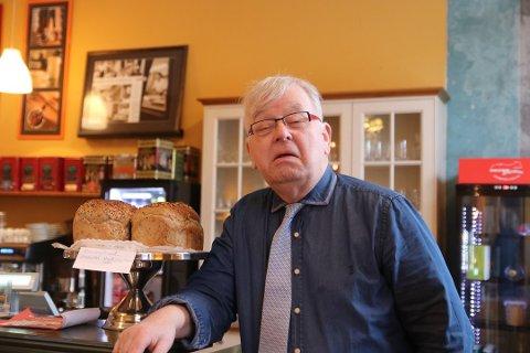 Sverre Stang er glad for at Halden Senterparti har tatt han godt i mot som nytt medlem.