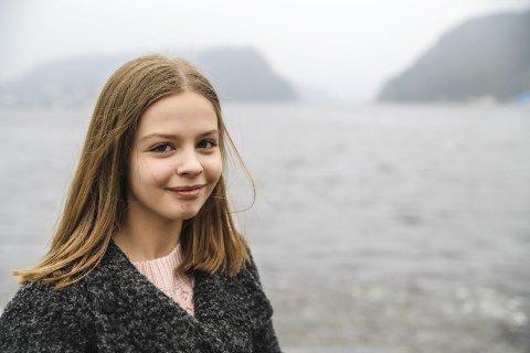 Talte om lærlinger: Sandra Elise Desirée Lexander talte varmt for flere lærlingplasser under landsmøtet i Høyre i helga. Arkivfoto: Hans-Petter Kjøge