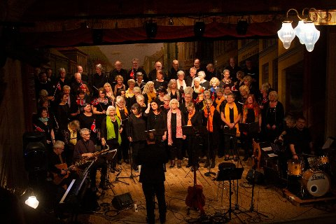 Picocanto med bandet Svein Bjørneby-kvartett i jubileumsaksjon lørdag kveld.