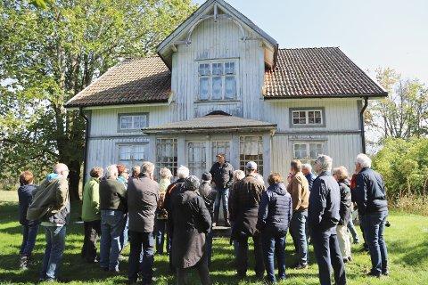 NORDGÅRDEN: Denne gården var sentral for gruppa på 11 motstandsmenn fra Halden det siste halvåret av krigen.