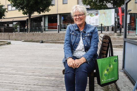NYE MØTER: Anne-Kari Holm forteller Senterpartiet skal ha møte i forbindelse med forhandlingene i ettermiddag. Arkiv.