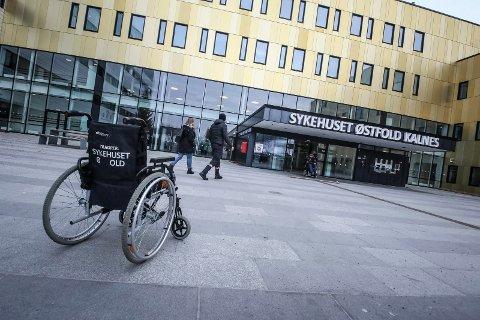 FØLGER MED: Sykehuset Østfold, Kalnes følger nøye med på situasjonen med coronaviruset.