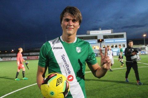 SPISS: Markus Kaasa har tidligere øst inn mål for Gjelleråsen, og har denne sesongen scoret seks seriemål for Bærum i 2. divisjon.