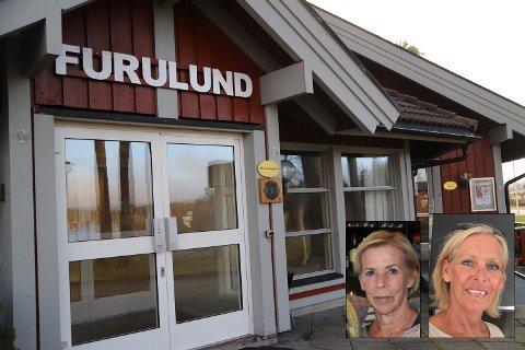 Søstrene Bente Saurbrey (t.v.) og Lene Vastveit har overtatt drifta på Furulund i Aremark og åpner spisestedet 4. mars.