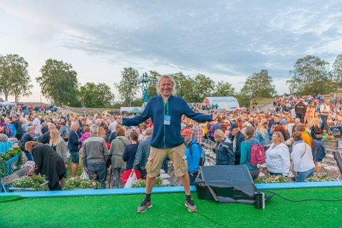 BERØRES: Trond Lie er sentral både i allsangen og konserten med Åge Aleksandersen denne sommeren. Dette er et arkivbilde.