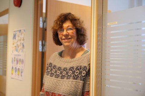 FORNØYD: NAV-leder Astrid Nordstrand er veldig fornøyd med at de har fått tilskuddsmidler som sørger for at de kan oppsøke flere.