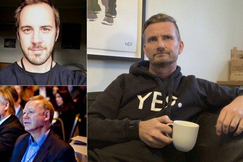 Arild Øren Wanvik (33), Atle Kvamme (67) og Bent Skjærstad (47).