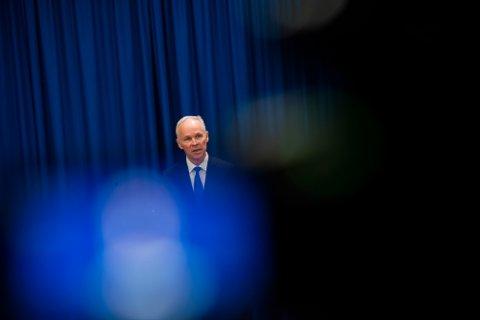 Oslo 20200320.  Finansminister Jan Tore Sanner orienterte om håndteringen av koronavirusutbruddet.