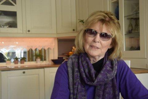 SJOKKBESKJED: Aud Hartvigsen hadde synet i over 40 år før sjokkbeskjeden kom.
