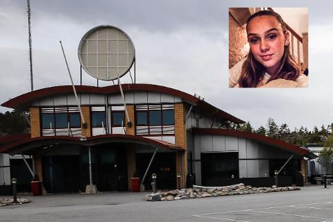 STENGT FOR GODT?: Burger King på Svinesund har stengt dørene og fjernet den velkjente logoen. Om det er på permanent basis har HA ikke fått svar på. Alice Hafsrød (16) fra Halden vet foreløpig ikke om hun har mistet jobben eller ikke.