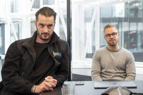 Frank Erdmann Wiederstrøm (t.v.) og Erik Lunde Wiederstrøm drev 123 Bad AS (endret navn til Karce1 AS) fra oppstarten i 2014 til konkursåpning for et par uker siden. De jobber i dag i 123 Bad og Interiør, som har videreført virksomheten.