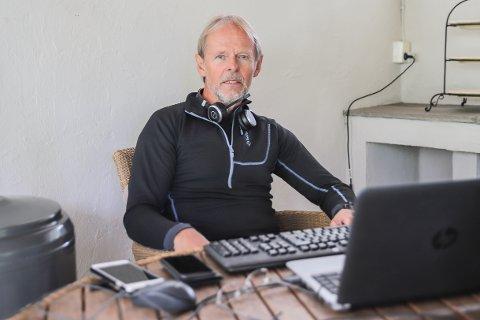 VIKTIG JOBB: Assisterende kommuneoverlege Lasse Henriksen har fått den viktige jobben med smittesporing av koronaviruset i Halden kommune.