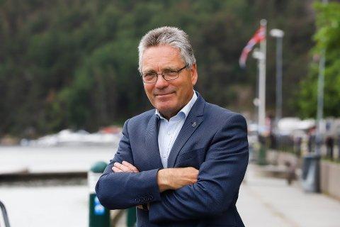 MENER SAMARBEID KAN RYKE: Thor Edquist, byens tidligere ordfører, frykter for framtidig grensesamarbeid.