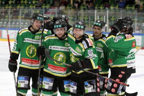 HVEM BLIR?: Får vi se Linus Rosdahl (tv), Sander Rekstad, Henrik Holme, Herman Benjo Kopperud og/eller Jesper Kolle Nipe i grønt også kommende sesong. Ingen av dem har kontrakt per nå.