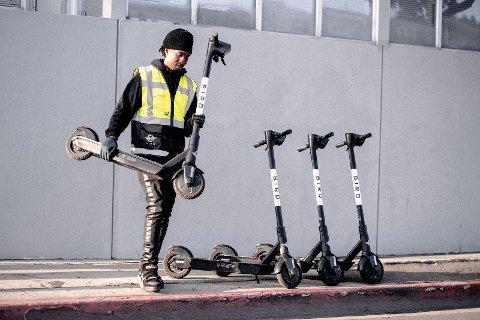 Selskapet Bird ønsker å plassere ut elektriske sparkesykler i Halden.