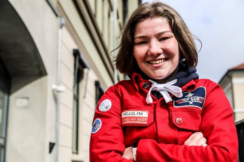 Celine Sva Gøperød. Russepresident Halden vgs.