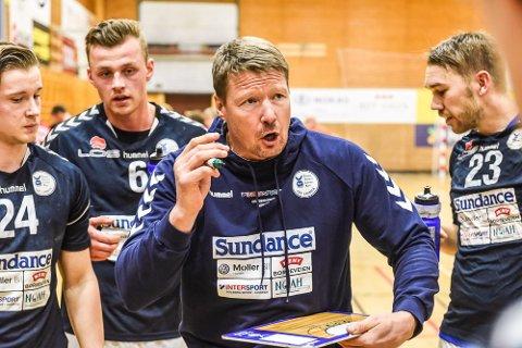 UTEN PRESS: - Halden skal være klart bedre enn oss, og vi kommer til disse kvalkampene med lave skuldre og uten press, sier Falk Hortens trener Johnny Jensen.