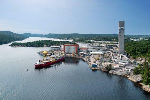 I år starter Nexans utvidelsen av fabrikkanlegget i Halden. Det blir blant annet et nytt tårn på 150 meter.