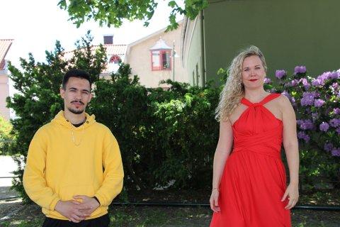 "DUO: Mirsad ""Mirre"" Avdija og Stina Steingrim Levvel utgjorde en sterk duo."