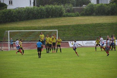 Filip Johansen Westgaard og resten av Kvik storspilte ikke, men fikk med seg viktige tre poeng onsdag kveld.