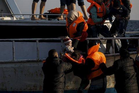 MENNESKEVERD OG HUMANISME: Humanetisk forbund oppfordrer til en human asylpolitikk. (Foto: Reuters/Alkis Konstantinidis)