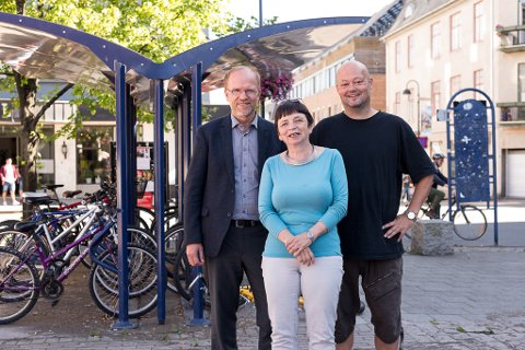 VIL BYTTE: Sjur Skjæveland, Live Giset og Stig Vaagan vil ha ordførerbytte i Hamar