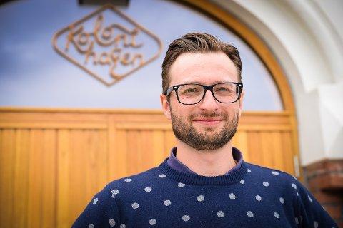 DAGLIG LEDER: Christoph Schmitz ble ansatt som er ny daglig leder ved Basarene i Hamar i august. Nå er han ferdig i stillingen.