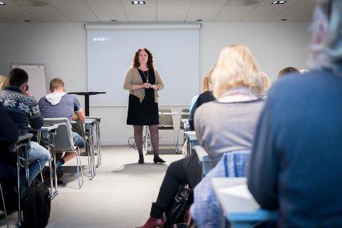 IGANG: Sylvia Brustad startet 1. september jobben som ny turistsjef i Hamarregionen Reiseliv. På Astoria la hun fram sine visjoner.