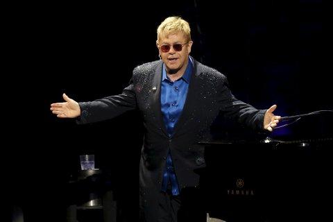 POPULÆR: Under fem minutter tok det, så var Elton John utsolgt.