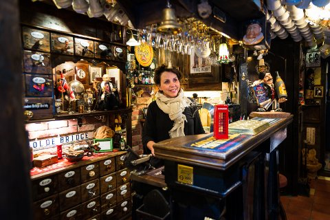TRIVELIG: Gunn Magdalena har mange gode minner fra puben.