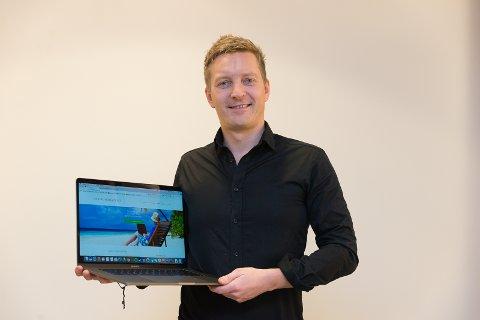 REISE: Kjetil Grøsland har forlatt Norge. Nå skal han blogge om erfaringene sine.
