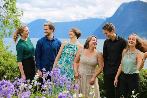 TIL HAMAR: Fjord kammerensemble holder konsert i Hamar. Og bestiger et fjell