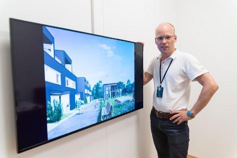 VEKST: Daglig leder Endre Juell-Andersen hos DnB Eiendom opplever en enorm økningi boligprisene i Hamar.