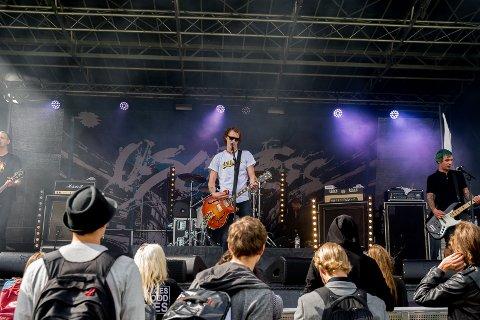 KONSERT: En konsert med Oslo Ess markerte avslutningen av første Kattafestivalen.