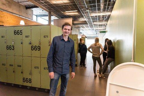 POLITIKER: Jonatan Faraasen vil opp og fram i politikken.