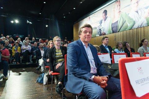 OPTIMIST: – Bioøkonomien er i vekst, sier administrende direktør hos Hedmark Kunnskapspark AS, Frank Larsen.