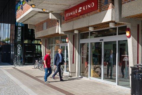 GODT BESØK: Hamar kino er, justert etter folketall, tredjestørst i landet.
