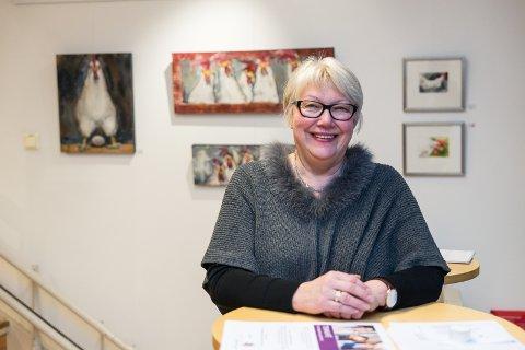 GRATIS: Kreftforeningens May Næss byr på gratis temakafé.