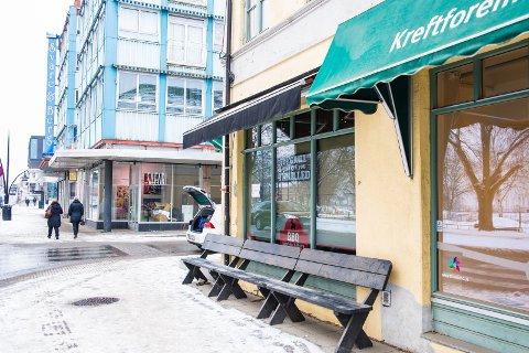 I STRANDGATA: «Mr. Kebab» ligger i Strandgata.